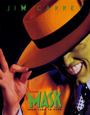 Jim Carrey locandina The mask